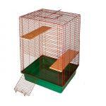 Клетка для шиншилл 2 этажа 50*57*81см.