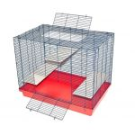 Клетка для шиншилл 3 этажа 90*55*65см.