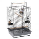 Клетка MAX 4 для средних попугаев (черная) 50 x 50 x h 75 см. (55023517)