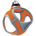Мягкая шлейка-жилетка, оранжевая, обхват груди 32-36 см (HL029XS)