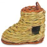 Дом-башмак плетёный для грызунов, 17*9*13 см (PT6058)