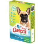 """Омега Neo +  Мультивитаминное лакомство для собак """"Свежее дыхание"""" с мятой и имбирем, 90 таб."""