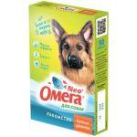 """Омега Neo +  Мультивитаминное лакомство для собак """"Крепкое здоровье"""" с морскими водрослями, 90 таб."""