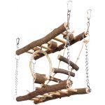 Мостик подвесной деревянный, 27*17*7 см (61650)