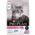 Корм для кошек старше 7 лет, с чувствительным пищеварением, индейка Delicate Senior