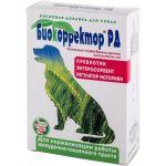 Биокорректор для собак натуральная биологически активная добавка 90таб