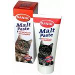 """Паста для вывода шерсти со вкусом мяса, для кошек """"Malt paste"""""""