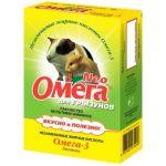Омега Нео витамины для грызунов с биотином
