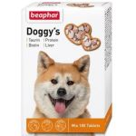 Кормовая добавка для собак, 180 таб., Doggy's MIX + Taurin-Biotin + Protein + Live
