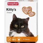 Кормовая добавка с протеином для кошек, Kitty's + Protein