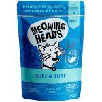 """Паучи для кошек с сардинами, тунцом, курицей и говядиной """"Все лучшее сразу"""", SUPURRR SURF & TURF"""