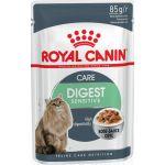 Кусочки в соусе для кошек 1-7 лет,:отличное пищеварение (DIGEST Sensitive)