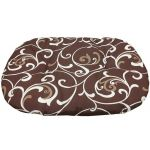 Подстилка для пластикового лежака Sleeper 1 Stefanplast , 45*35 см, коричневый с завитками