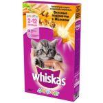 """Сухой корм для котят Вкусные подушечки """"Аппетитное ассорти с индейкой и морковью"""""""