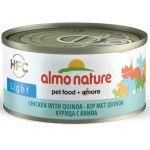 Низкокалорийные консервы для кошек с курицей и киноа (HFC ALMO NATURE LIGHT CATS CHICKEN AND QUINOA)