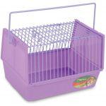 Переноска-клетка для мелких животных 21,5*15,5*14 см (S-106)