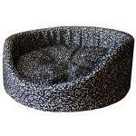 Лежанка круглая с матрацем мебельная ткань (75141)
