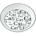 Миска фарфоровая  для кошек CAT 16 см