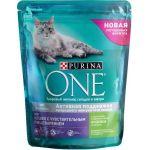 Сухой корм с индейкой и рисом для кошек с чувствительным пищеварением