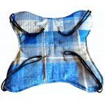 Гамак для грызунов и хорьков, сине-бежевая клетка