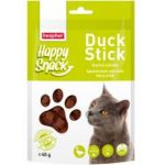 Лакомство для кошек Happy Snack Ароматные кусочки мяса утки