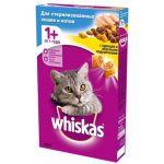 Сухой корм для кастрированных кошек с курицей, профилактика МКБ
