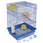 Клетка  для мелких грызунов, 35*28*48 см (YD-435)