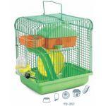 Клетка  для мелких грызунов, 22,5*17*25 см (YD-257)