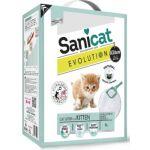 Комкующийся наполнитель  6 л ,Evolution Adult Kitten для котят