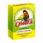 Омега Neo витамины для птиц с биотином