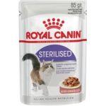 Кусочки в соусе для кастрированных кошек 1-7лет (Sterilized)