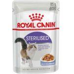 Кусочки в желе для стерилизованных кошек 1-7лет (Sterilized)