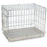 Клетка для животных, хром, 74*55*63,5 см (003 SC)
