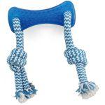 """Игрушка  """"Кость с верёвкой"""", 8,5-25 см, резина (TPR-14)"""