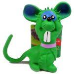 """Игрушка """"Мышка с бол. ушами"""", из латекса, 11 см (20075)"""