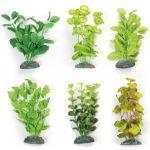 Растение для аквариума искусственный шелк +/- 27 см, 1 шт.