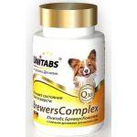 BrewersComplex Витамины с пивными дрожжами для собак мелких пород, 100 таб.