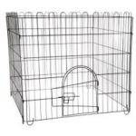 Вольер разборный для животных, 4 секции 75*75 см (1001)