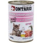 Консервы для котят: курица, креветки и рис Kitten Chicken,Schrimps,Rice,Salmon Oil
