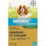 Ошейник Килтикс для собак мелких пород от блох и клещей, 35см