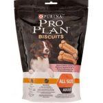 Лакомство бисквиты для собак с лососем и рисом