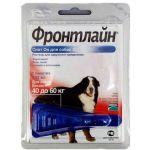 Спот от блох и клещей для собак 40-60 кг, 1 пипетка, Spot On XL