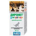 Диронет джуниор от глистов для котят (суспензия)