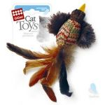 Игрушка для кошек Птичка с перьями 10 см (75264)