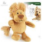 Игрушка для собак Лев с пищалкой, 10 см (75103)