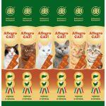 Колбаски для кошек с курицей и печенью, 6шт (36450)