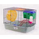 Клетка для грызунов двухярусная с домиком и миской, 38,5*27,5*26,5 см