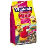 Корм для средних попугаев MENU VITAL