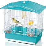 "Клетка для птиц ""Tiffany"" 42*26*42 см голубая (02362)"