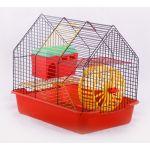 """Клетка для грызунов """"Комфорт-2"""" с домиком, 38,5*27,5*34 см"""